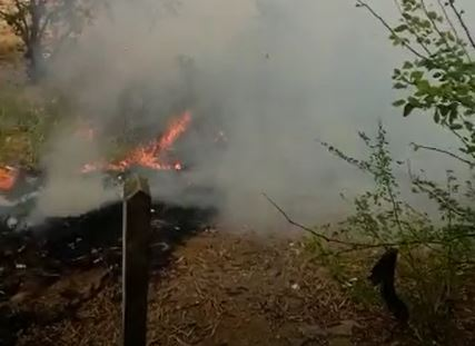 Continúan incendios forestales en Bucaramanga | EL FRENTE