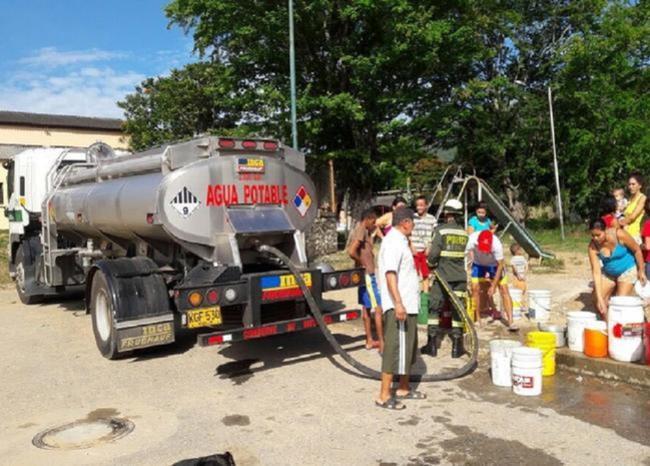 El Niño genera intensa sequía en Santander. Hay escasez de agua en nueve municipios  | EL FRENTE