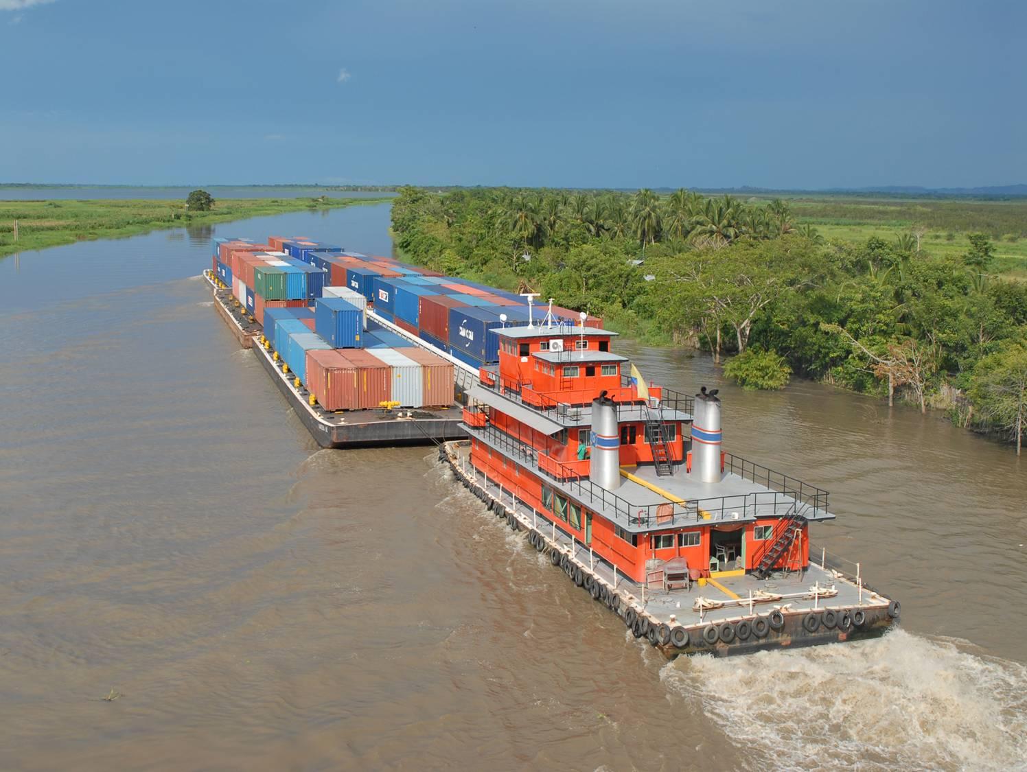 Aguas disminuyen en Barrancabermeja. Baja navegabilidad en el río Magdalena | EL FRENTE