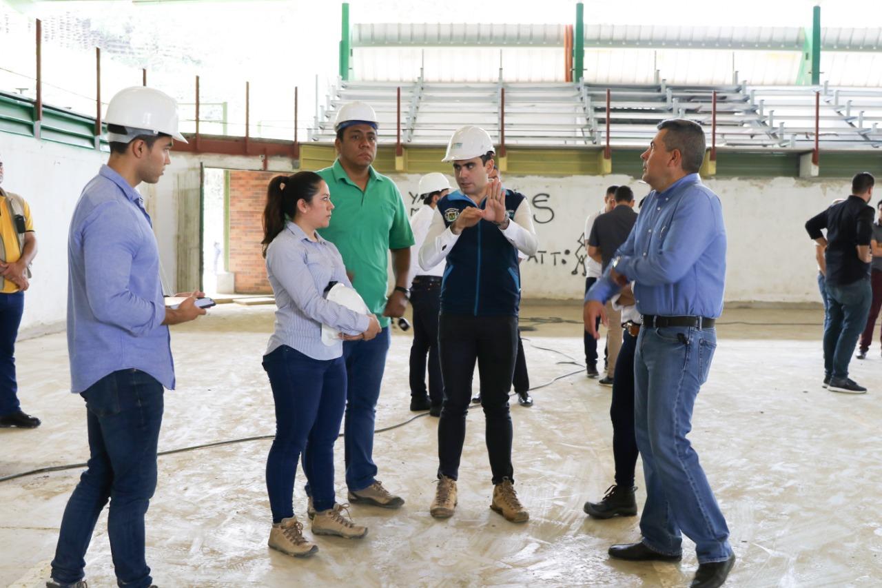 Obras de infraestructura avanzan positivamente en Floridablanca  | EL FRENTE
