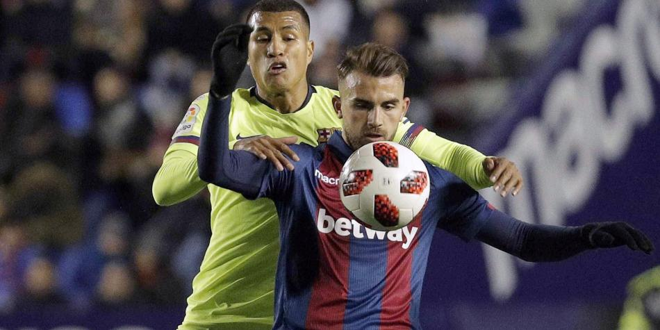 Barcelona perdió ante Levante por Copa del Rey | EL FRENTE