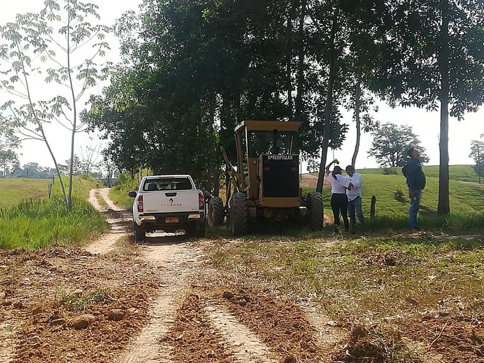 Mantenimiento vial en zona rural de Barrancabermeja  | EL FRENTE