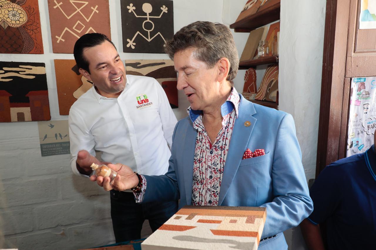 Gobernadores de Santander y Antioquia se reunieron en Barichara. Potencializarán turismo  | EL FRENTE