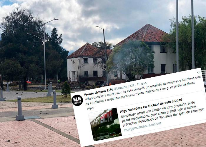 El Frente Urbano del ELN advirtió el atentado en la capital | EL FRENTE
