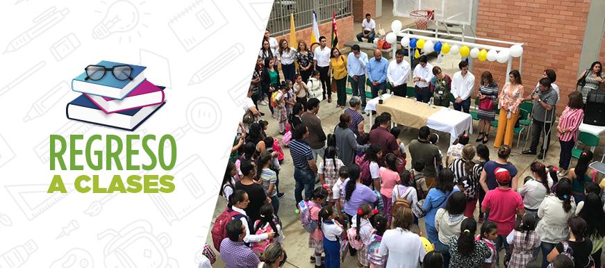 Comunidad satisfecha con la nueva institución María Goretti Sede C | Metro | EL FRENTE