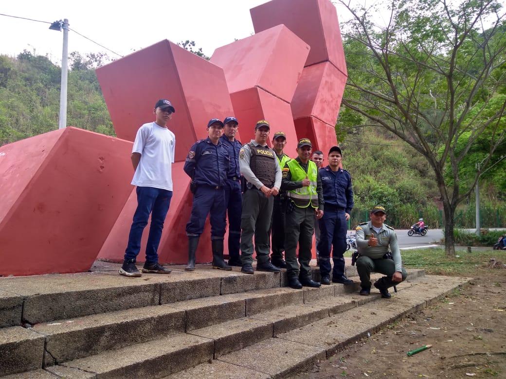 Restauran monumento en Floridablanca | EL FRENTE