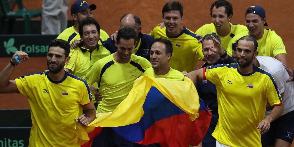 Histórica clasificación de Colombia en Copa Davis | EL FRENTE