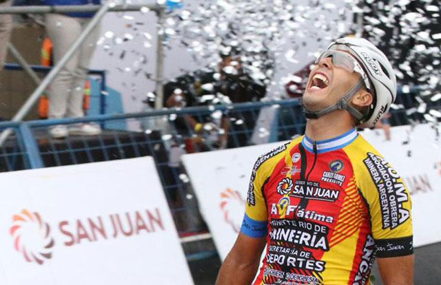 Tivani gana la sexta etapa de la Vuelta a San Juan  | EL FRENTE