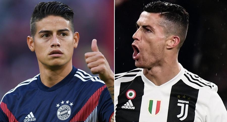 Prensa española asegura que Cristiano Ronaldo quiere a James Rodríguez para la Juventus | EL FRENTE