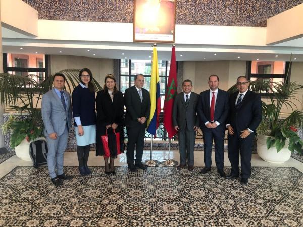 Senador Durán Barrera de visita en Marruecos | EL FRENTE
