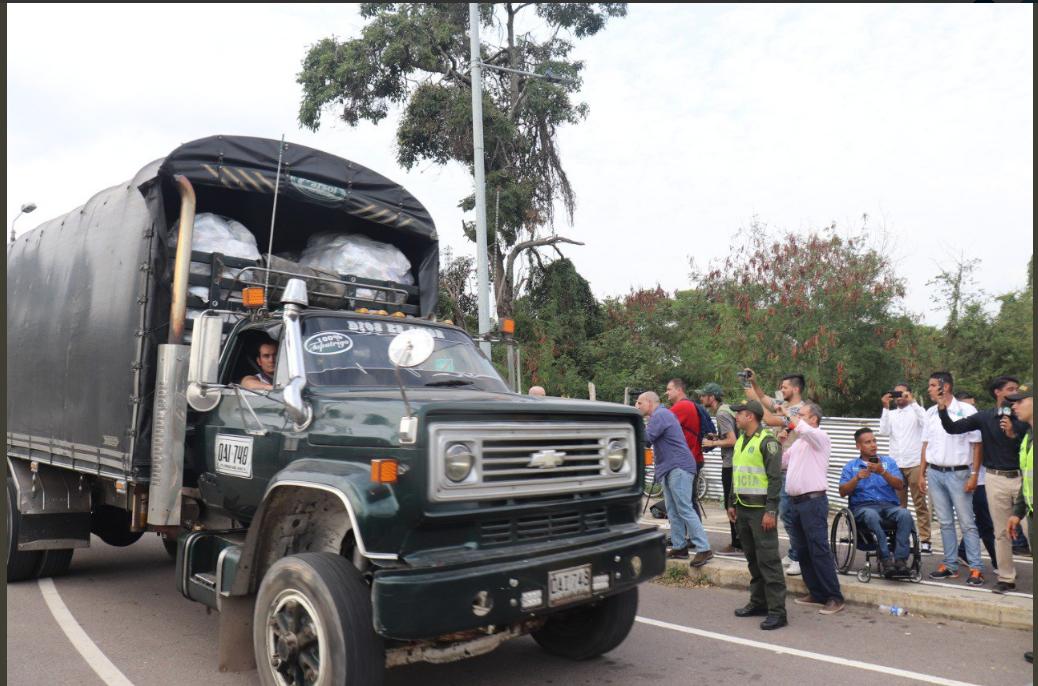 Llegó a Cúcuta la primera parte de la ayuda humanitaria para Venezuela   EL FRENTE