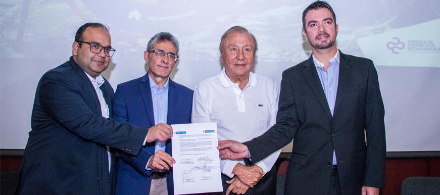 Alcaldía de Bucaramanga firmó  el Pacto de Economía Circular | EL FRENTE