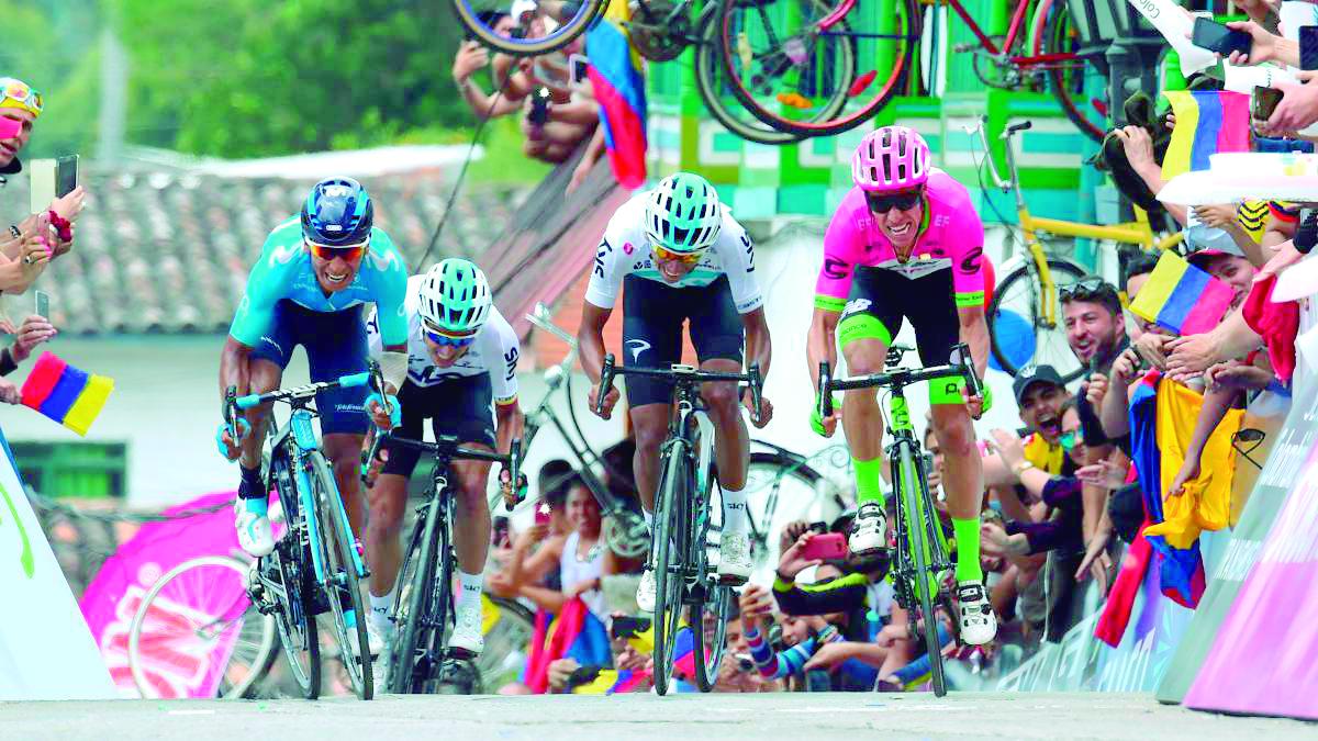 Este martes comienza el Tour Colombia 2.1 | EL FRENTE