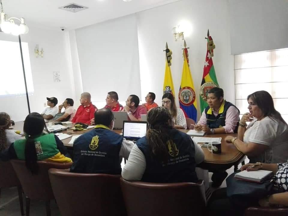 Capacitación del Consejo Municipal del Riesgo. Integrantes recibieron ilustración sobre sismos | EL FRENTE