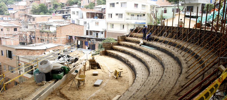 En marzo se le entregará a la Comuna 9 el Teatro Verde | EL FRENTE