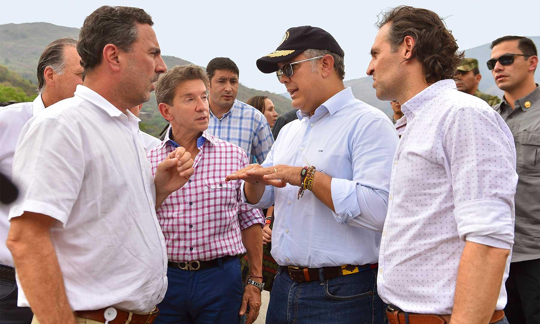 Presidente Iván Duque visitó Hidroituango y señaló que la prioridad es la comunidad | EL FRENTE