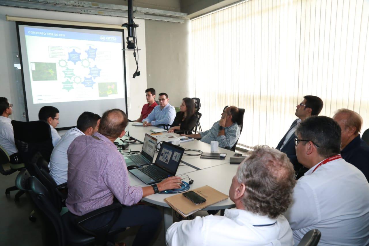 Entregada la documentación de los estudios para calcular el agua no contabilizada en Piedecuesta | EL FRENTE