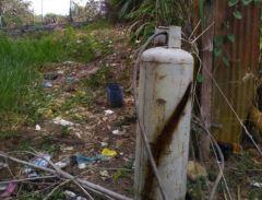 Incendio forestal dejó al descubierto válvula para el hurto de gas en San Vicente | EL FRENTE