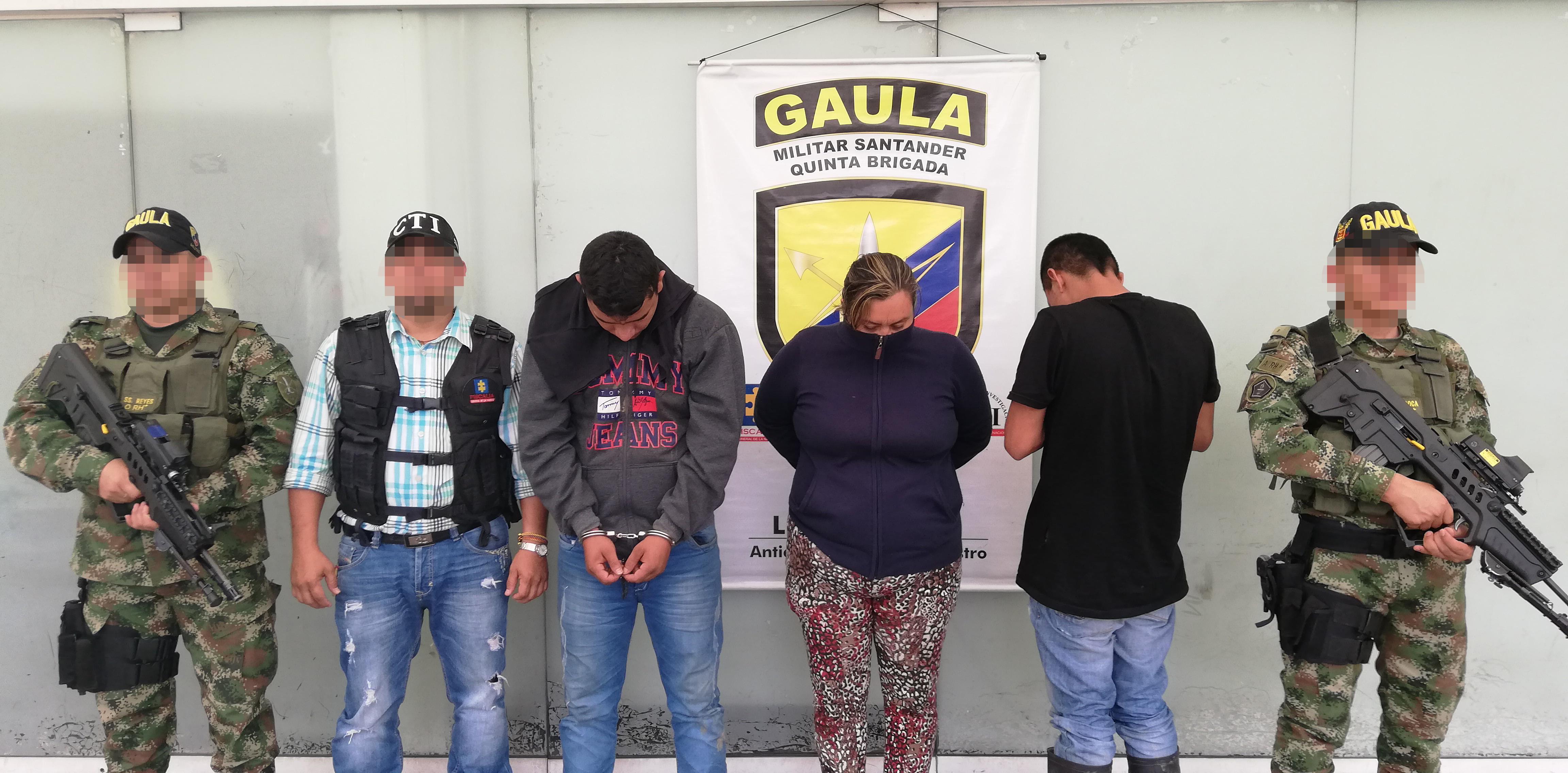 Detenida banda delicuencial por porte ilegal de armas en San Alberto    EL FRENTE
