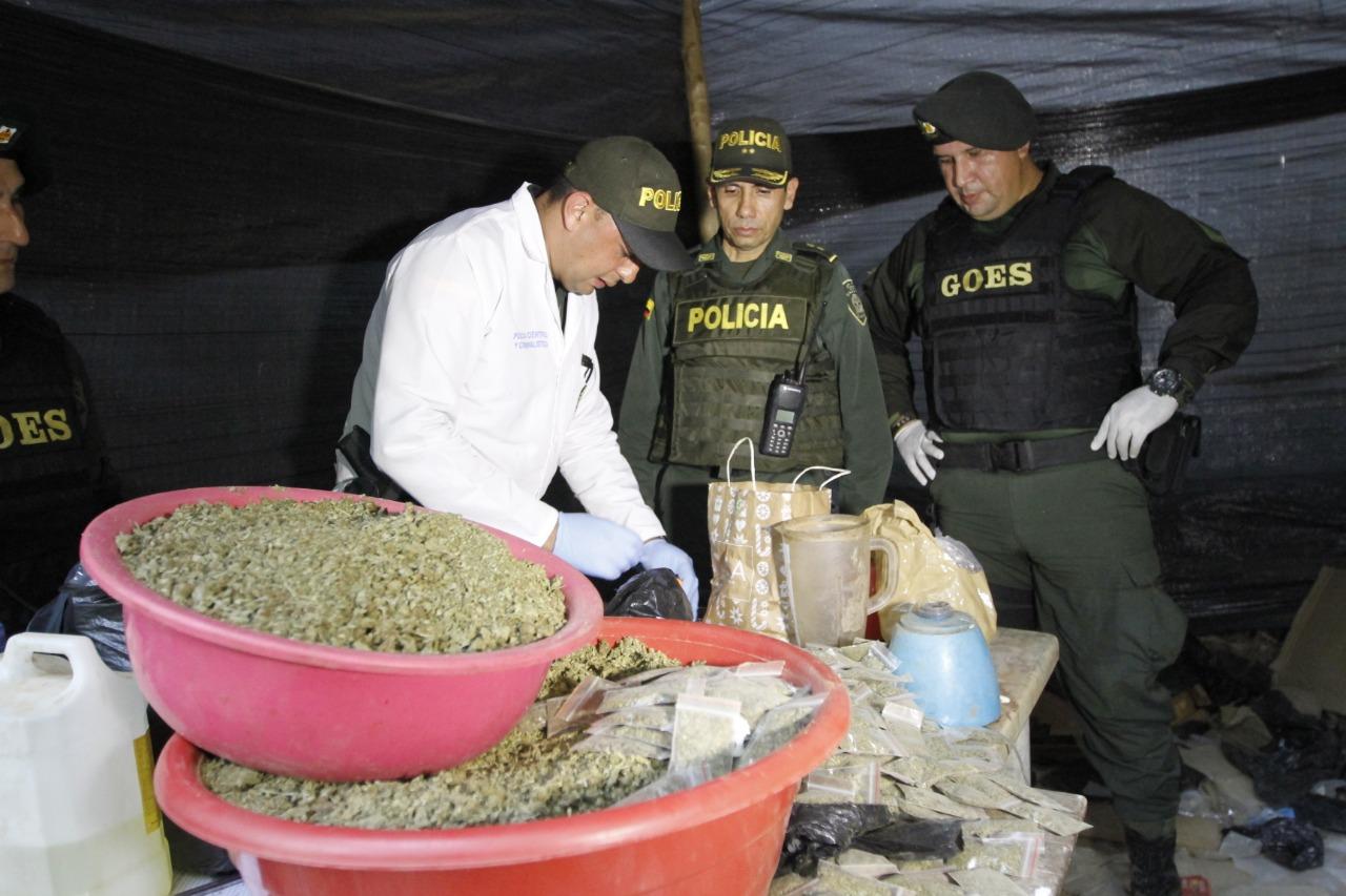 Desmantelan el laboratorio de drogas más grande de Bucaramanga | EL FRENTE
