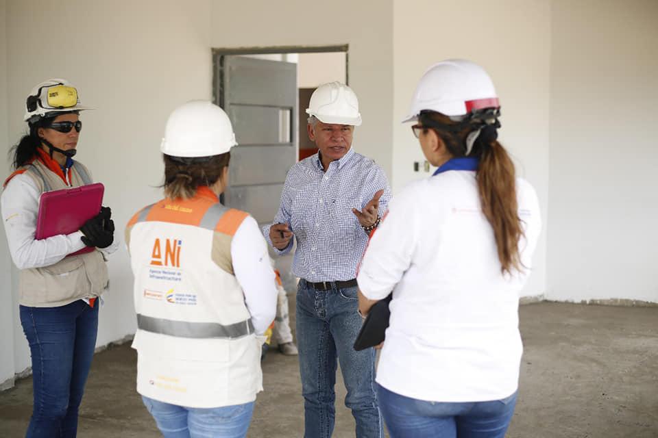 BREVES PORTEÑAS: Visita a obras del colegio Nueva Bélgica | Municipios | Santander | EL FRENTE