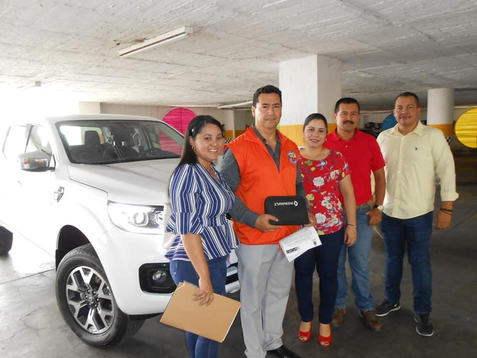 Defensa Civil recibió una camioneta para labores operativas de la Alcaldia de Barrancabermeja | Municipios | Santander | EL FRENTE