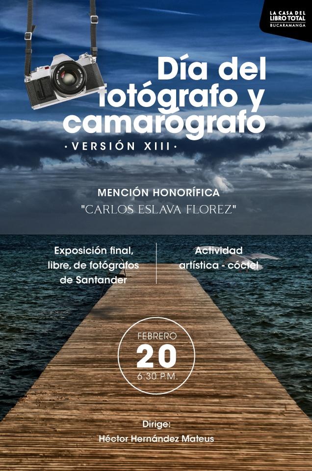 Día del fotógrafo y del camarógrafo        | EL FRENTE