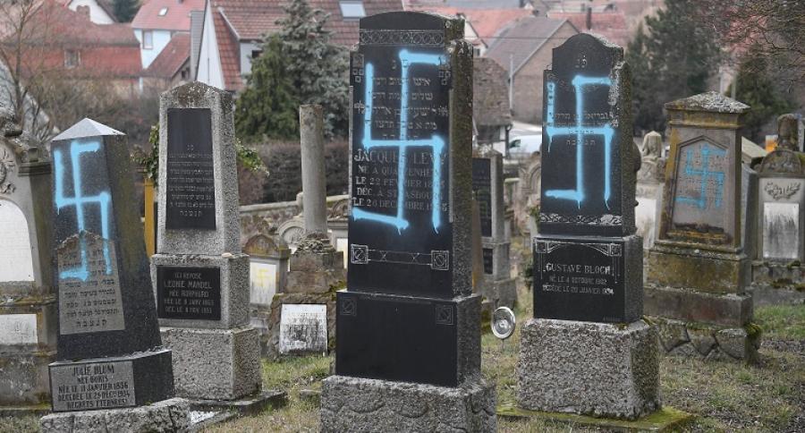 Profanan tumbas de cementerio judío en Francia  | Mundo | EL FRENTE