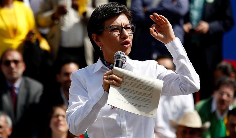 Claudia López aspirará a la Alcaldía de Bogotá   Nacional   Política   EL FRENTE