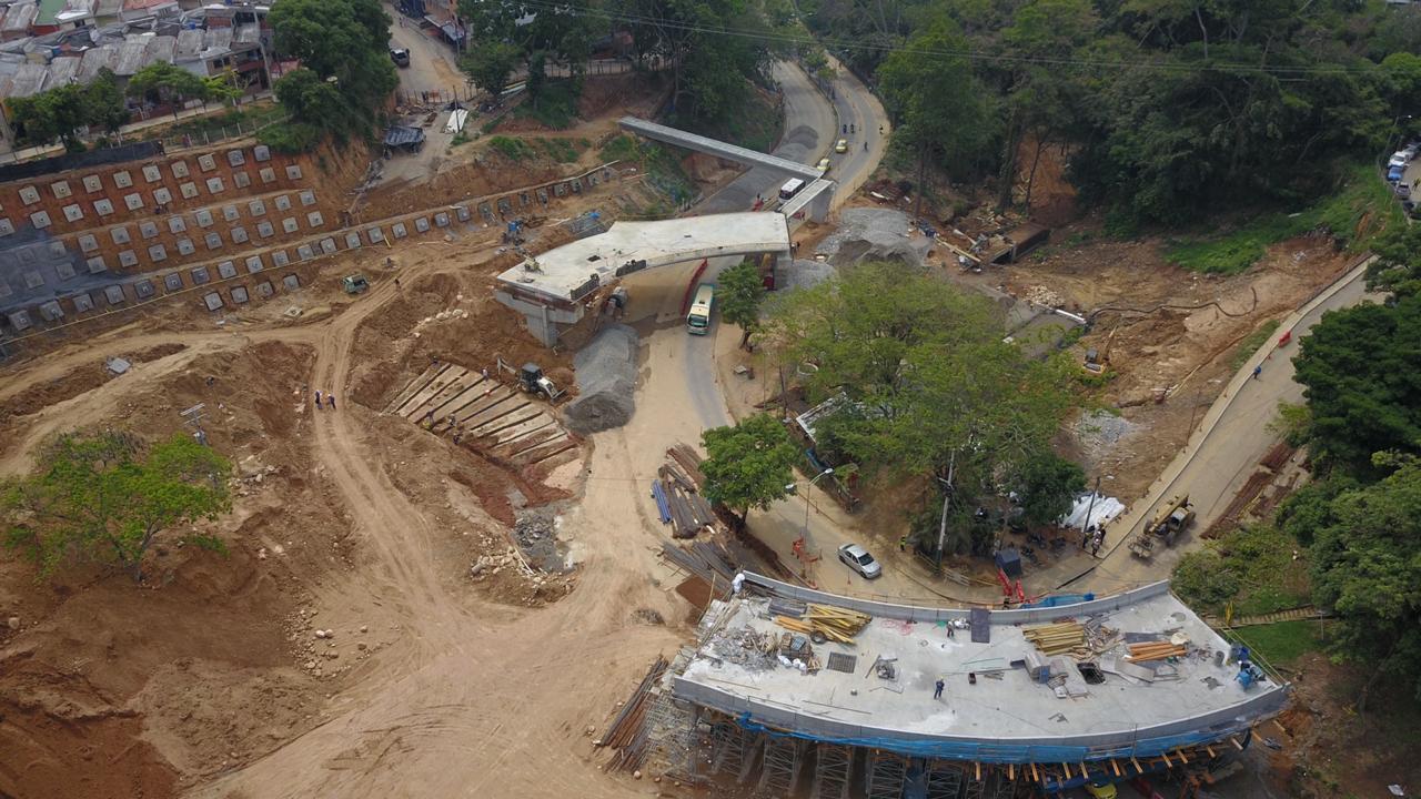 Cierre vial por obras del intercambador de Fátima en Floridablanca | Floridablanca | Metro | EL FRENTE