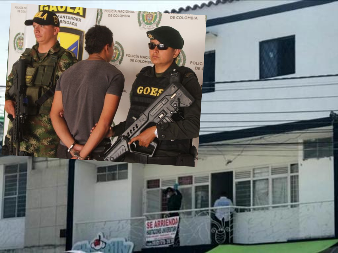 Capturado estudiante que manipuló explosivos en una casa frente a la UIS | EL FRENTE