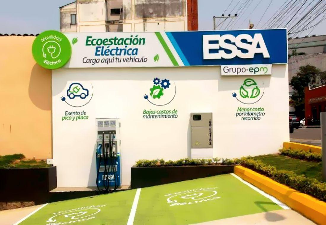 Primera eco-estación de recarga para carros eléctricos en Bucaramanga | EL FRENTE