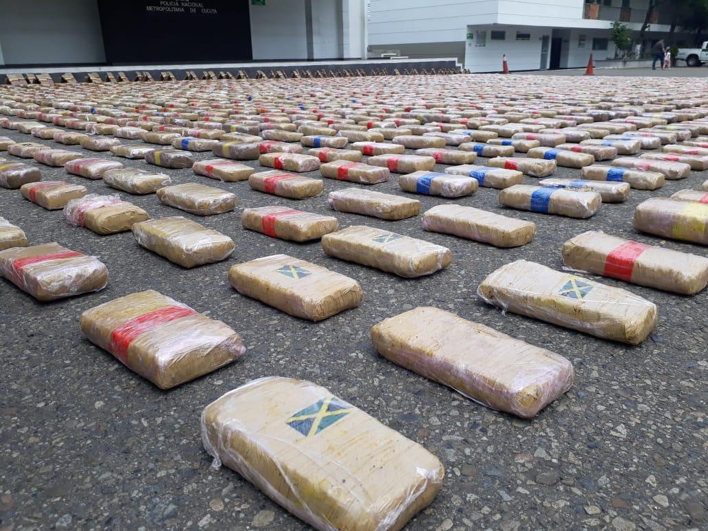 Se incautaron 1.200 kilos de marihuana en Norte de Santander | Local | Justicia | EL FRENTE