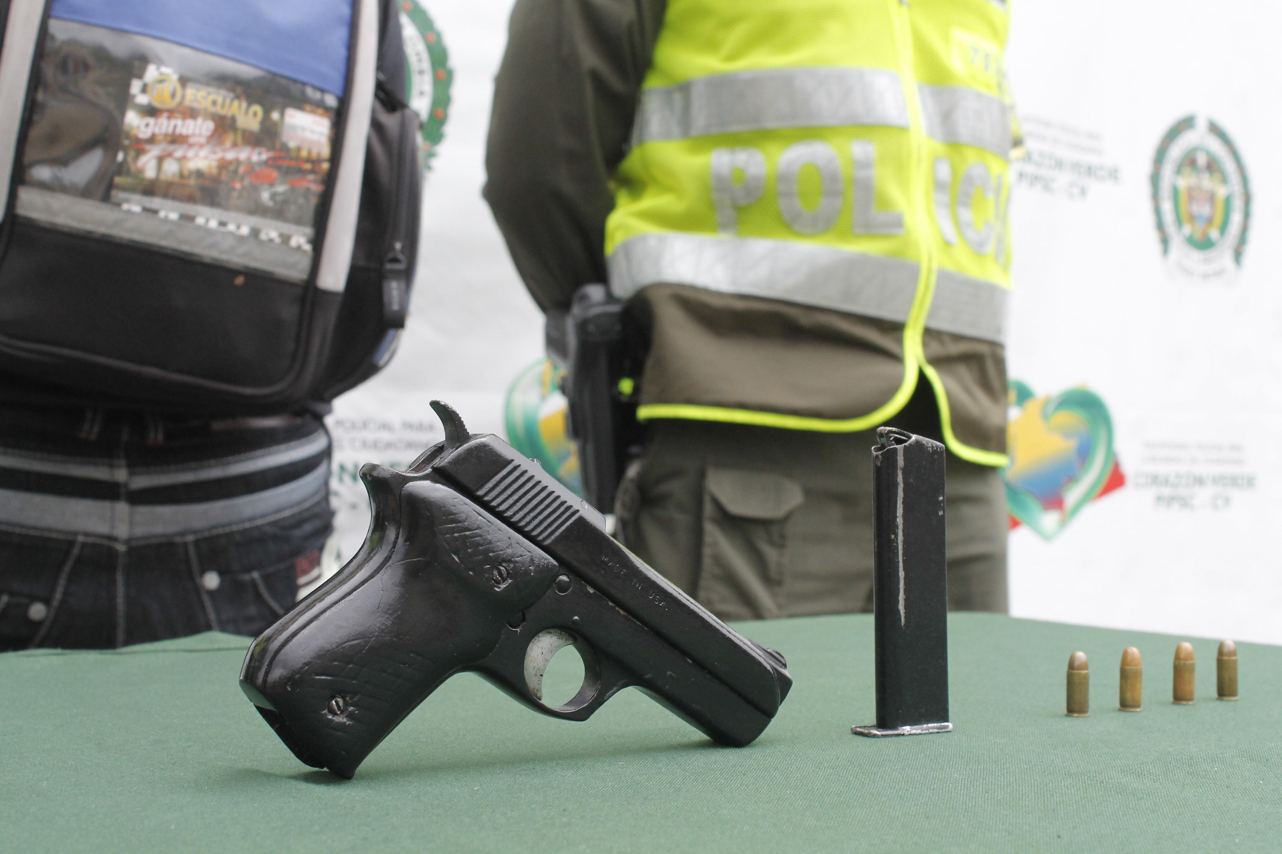 Desde hoy, prohibido el porte de armas en Santander  | EL FRENTE