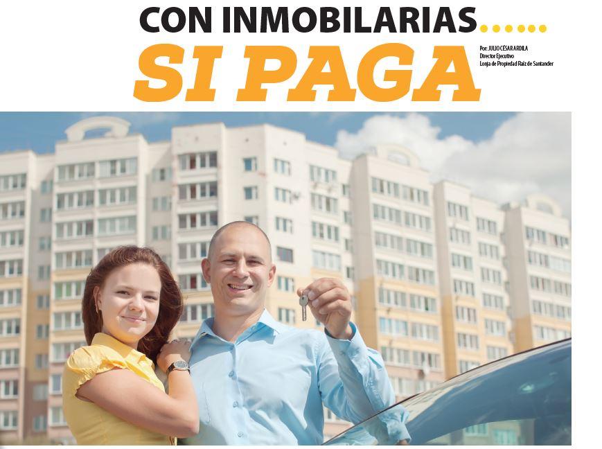 NEGOCIOS CON INMOBILARIAS…... SI PAGA  | EL FRENTE