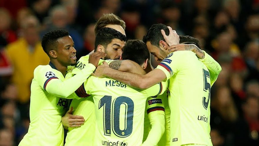 Barcelona ganó 1-0 como visitante al Manchester United | EL FRENTE
