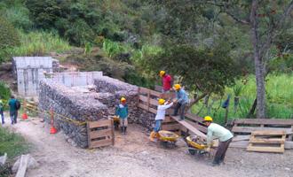 Obras de mitigaciónen Santander. Llegaron los recursos para San Joaquín, Onzaga y Pinchote | EL FRENTE