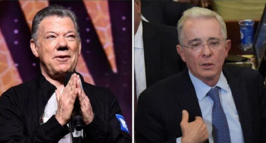 Encuesta asegura que Santos tiene mejor imagen que Uribe   EL FRENTE