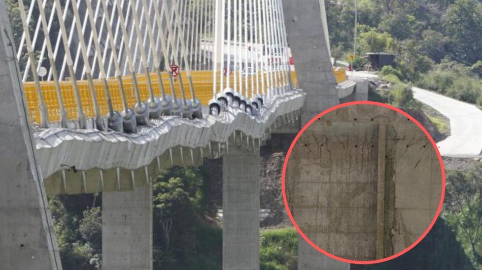 Estudios para determinar riesgo del puente Hisgaura tardarían 5 meses | EL FRENTE