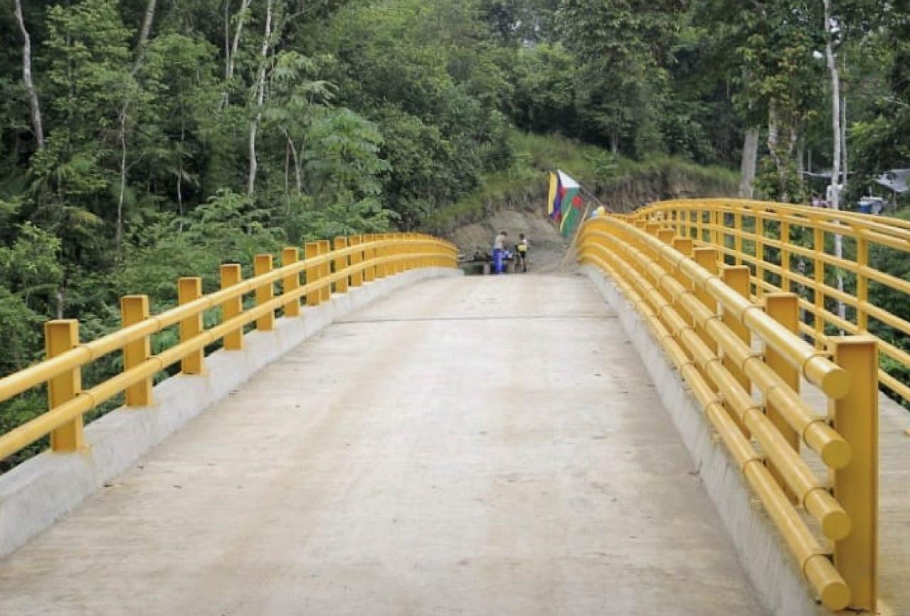 Bolívar, Landázuri y Cimitarra, en Santander, unidos por el nuevo Puente La Corcovada | EL FRENTE