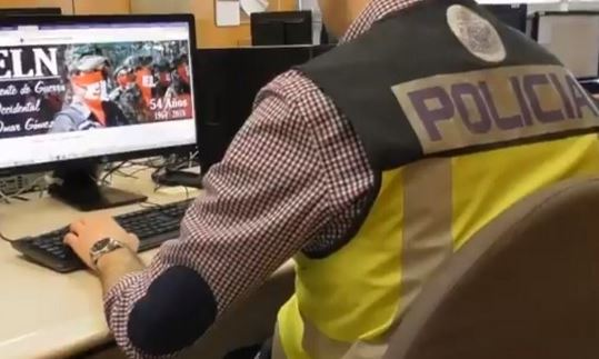Detuvieron al hombre que administraba los sitios web del ELN en España   EL FRENTE