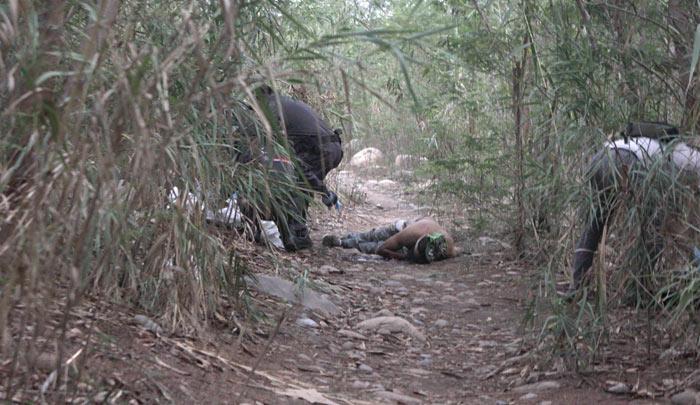 Encuentran tres cadáveres en trochas de la frontera   EL FRENTE