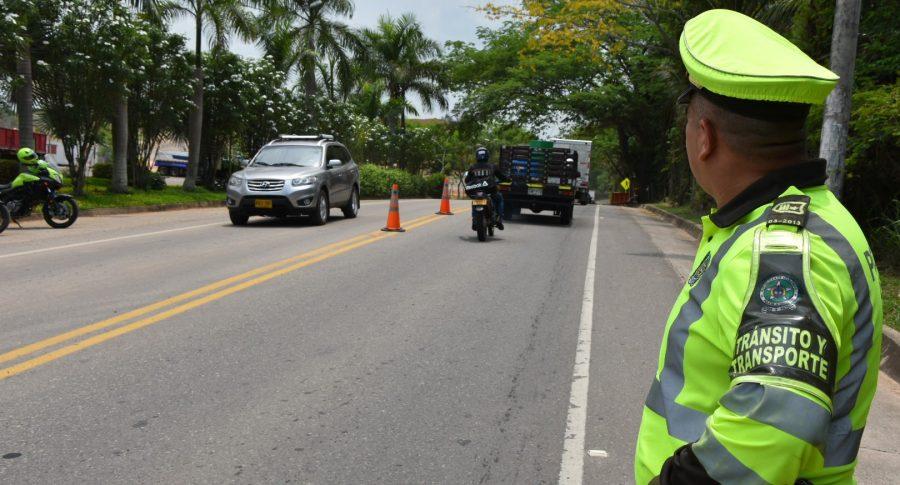 Aumenta a 72 el número de muertos por accidentes de tránsito en Colombia  | EL FRENTE