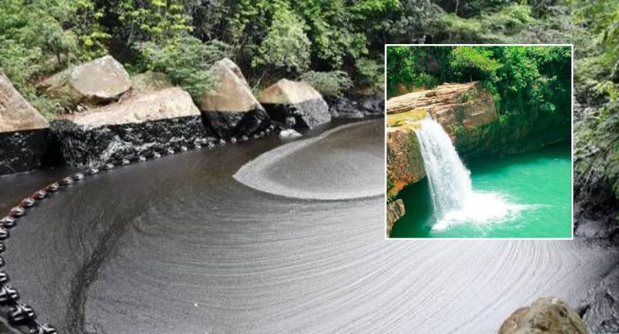 Pozo Azul, un escenario natural afectado por el ataque al oleoducto | EL FRENTE