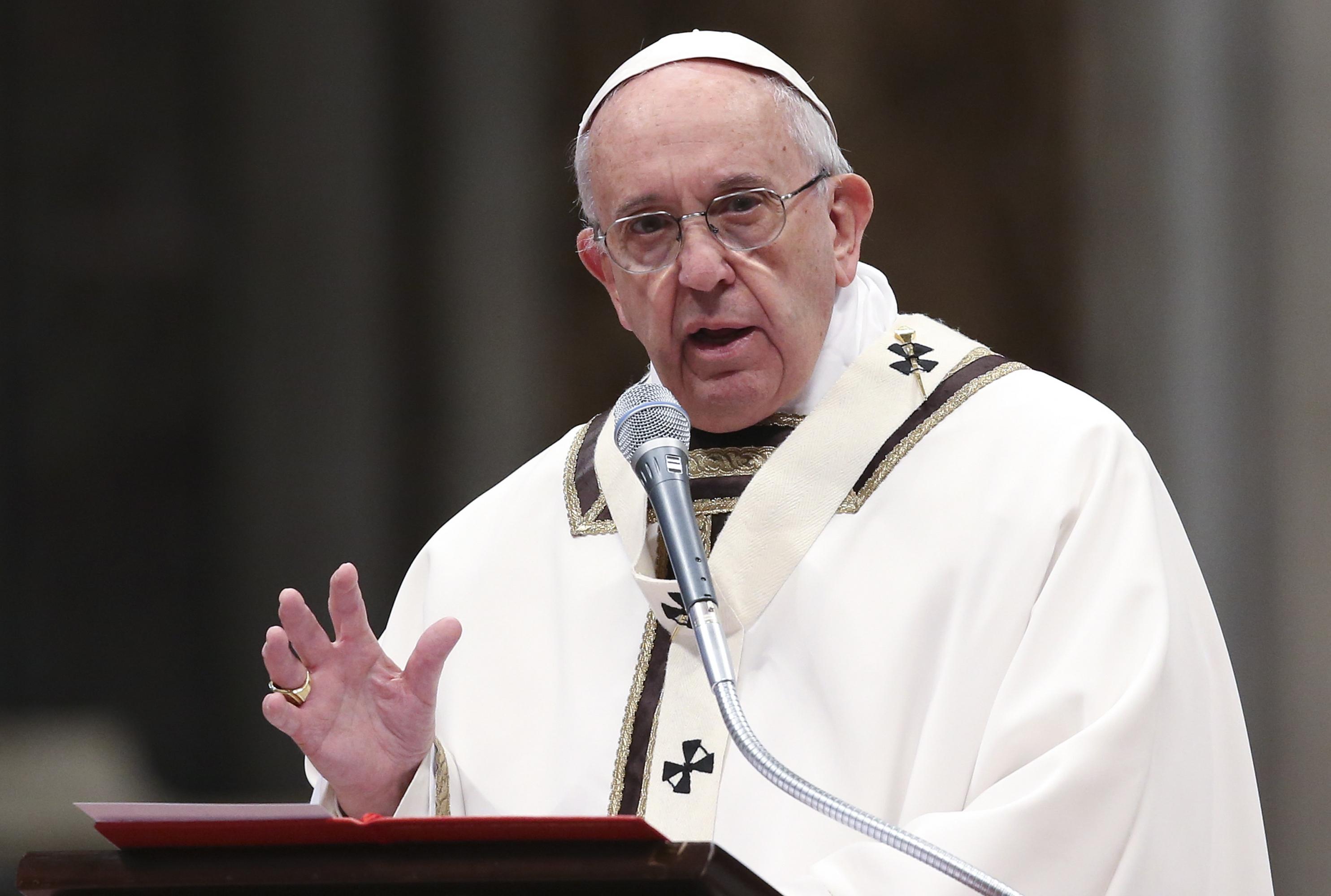 El papa Francisco pidió  | EL FRENTE