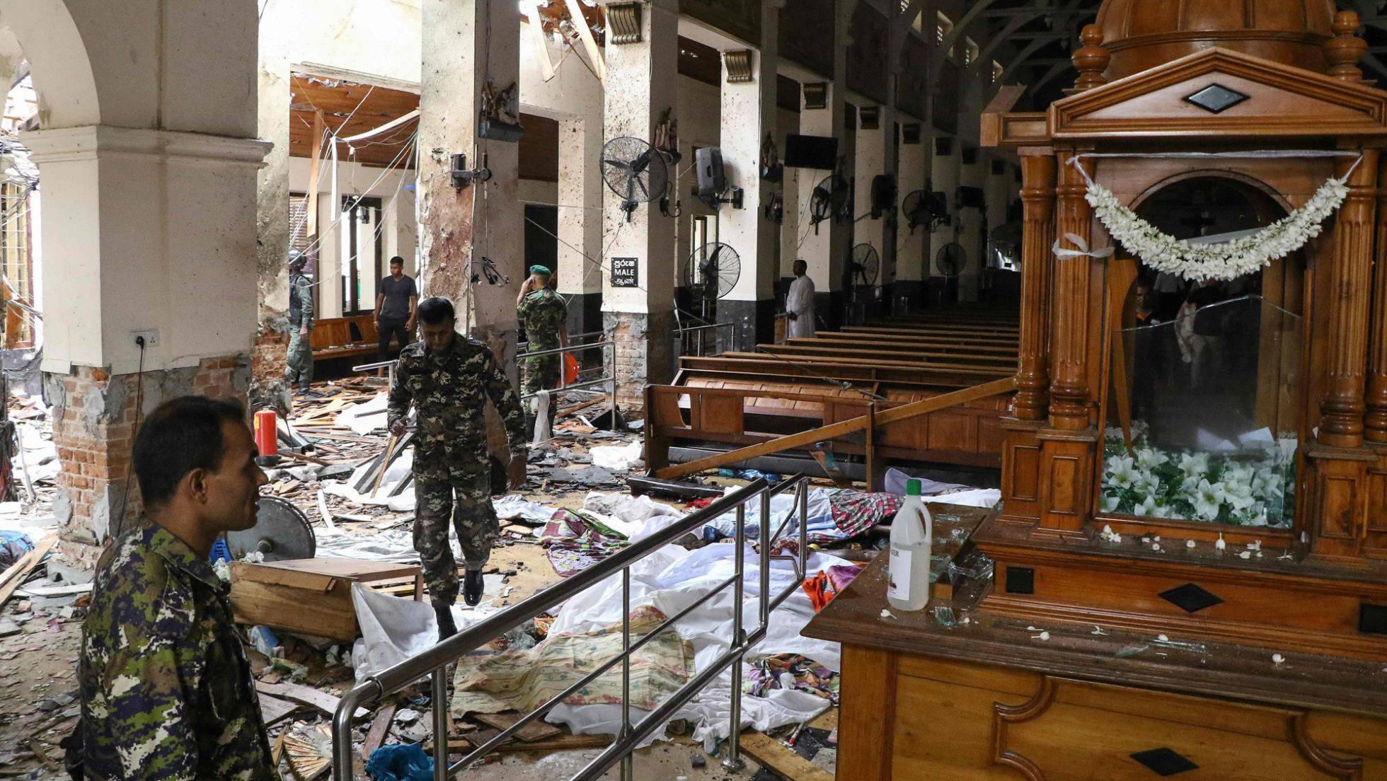 Atentados a iglesias y hoteles de lujo en Sri Lanka   EL FRENTE