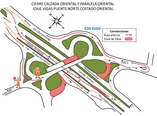 Cierre en calles aledañas al tercer carril en Floridablanca | Floridablanca | Metro | EL FRENTE