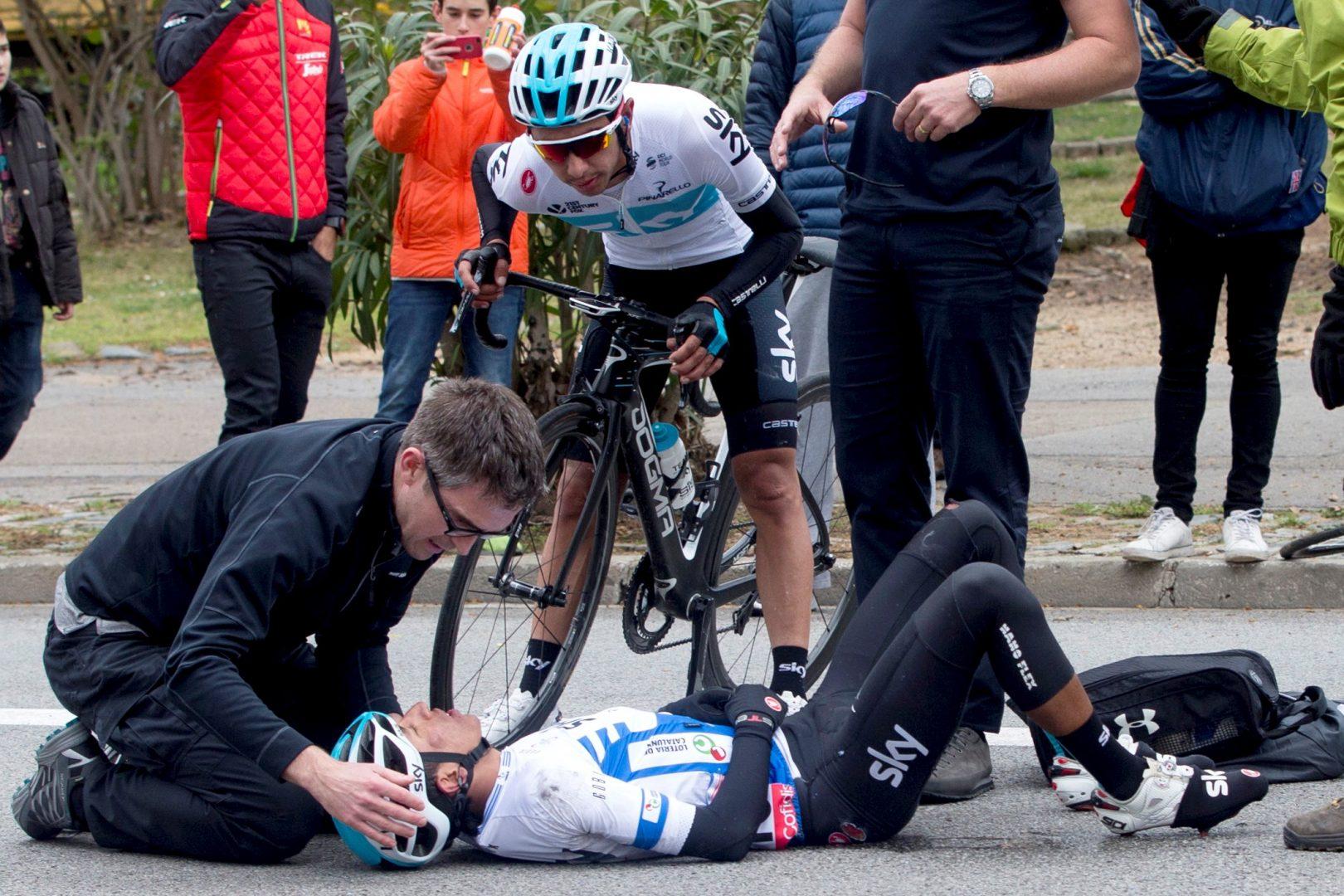 Egan Bernal se fracturó clavícula y dice adiós al Giro | Nacional | Deportes | EL FRENTE
