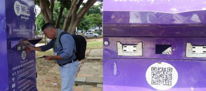 Gobierno municipal hace llamado de atención a ciudadanos por daños en Tótems de zonas wifi | EL FRENTE
