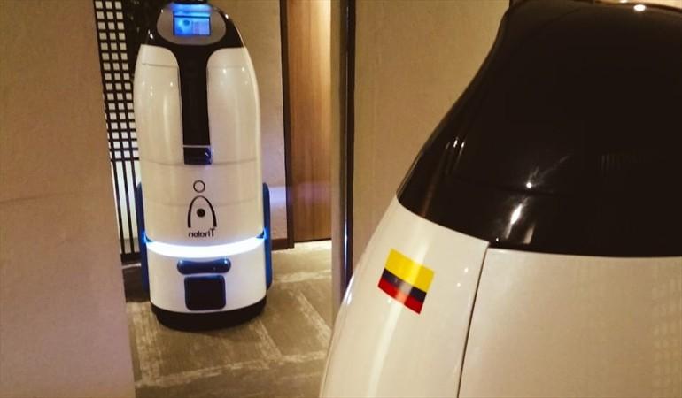 Nuevo robot colombiano que puede llevar ropa y comida   EL FRENTE